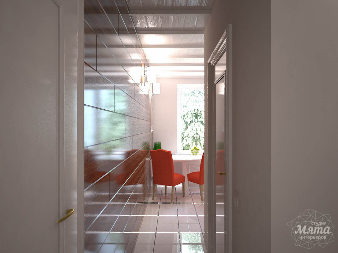 Дизайн интерьера однокомнатной квартиры в стиле минимализм по ул. Чапаева 30 img1157811578