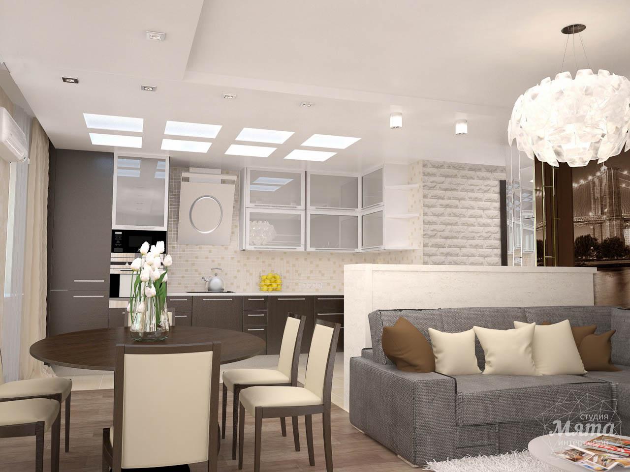 Дизайн интерьера трехкомнатной квартиры по ул. Белинского 222 img2077436676