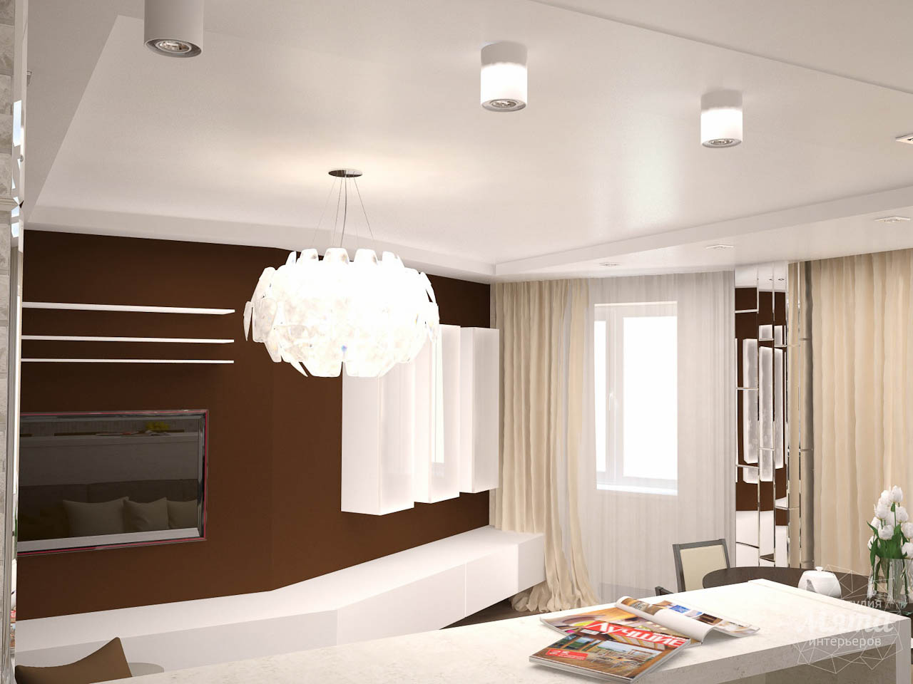 Дизайн интерьера трехкомнатной квартиры по ул. Белинского 222 img505502449
