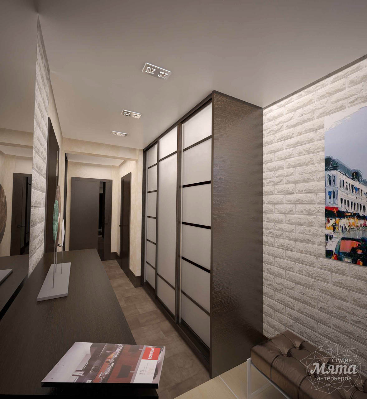 Дизайн интерьера трехкомнатной квартиры по ул. Белинского 222 img831724431