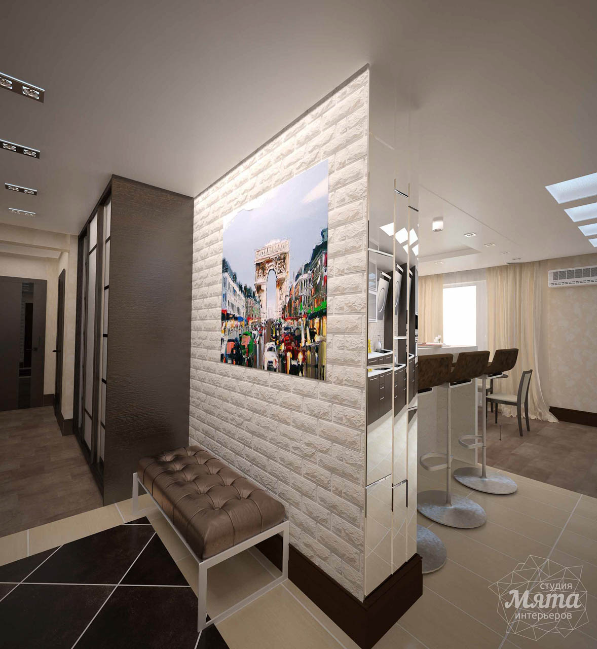 Дизайн интерьера трехкомнатной квартиры по ул. Белинского 222 img627587930