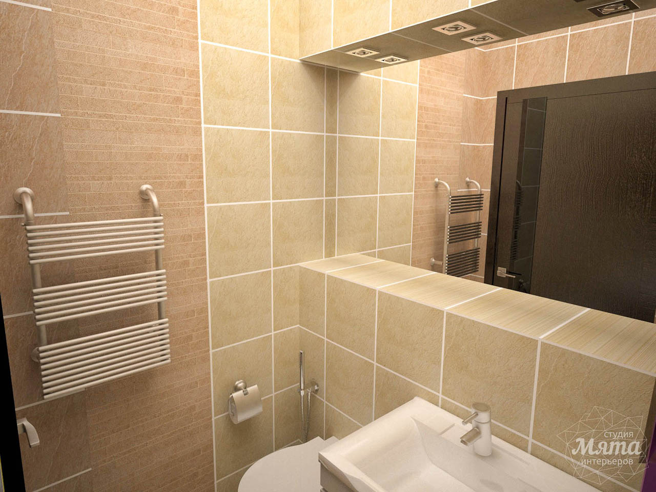 Дизайн интерьера трехкомнатной квартиры по ул. Белинского 222 img2004767118