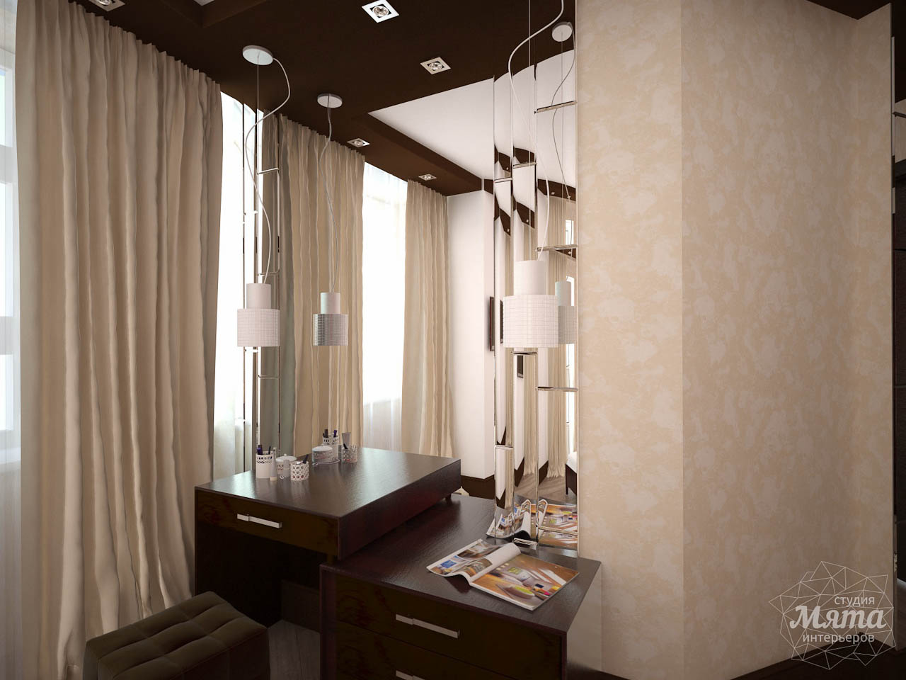 Дизайн интерьера трехкомнатной квартиры по ул. Белинского 222 img1881243152