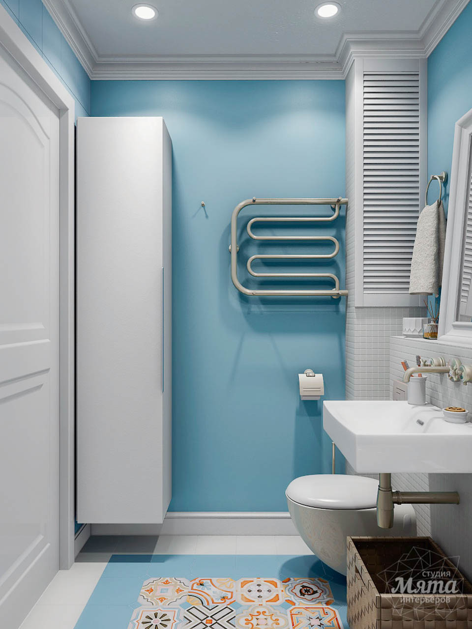 Дизайн интерьера однокомнатной квартиры по ул. Мичурина 231 img1620618264