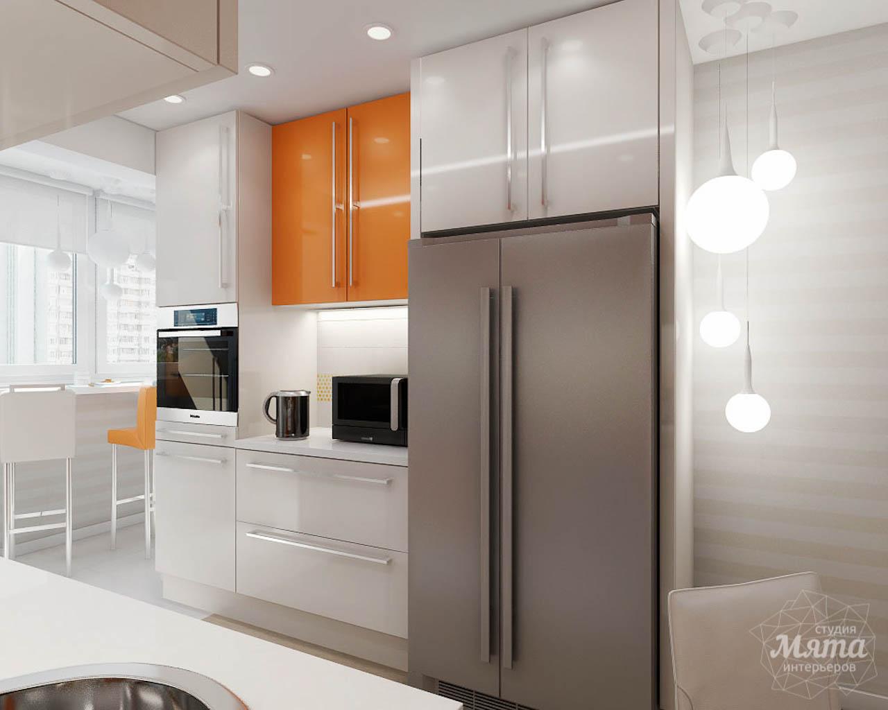 Дизайн интерьера однокомнатной квартиры в современном стиле по ул. Агрономическая 47 img1237890967