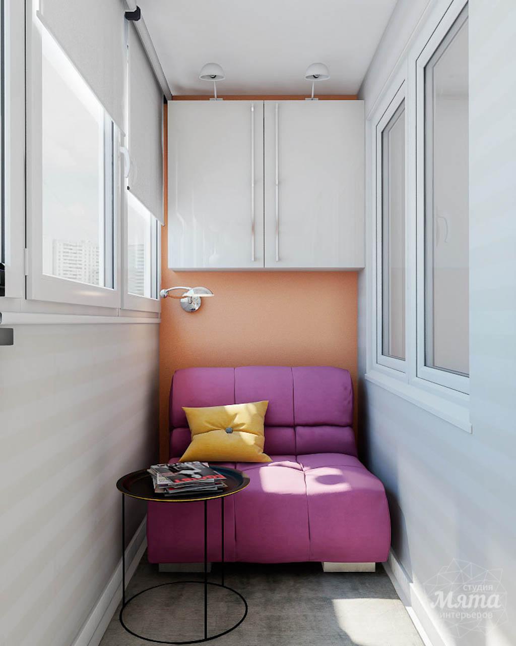 Дизайн интерьера однокомнатной квартиры в современном стиле по ул. Агрономическая 47 img918647902