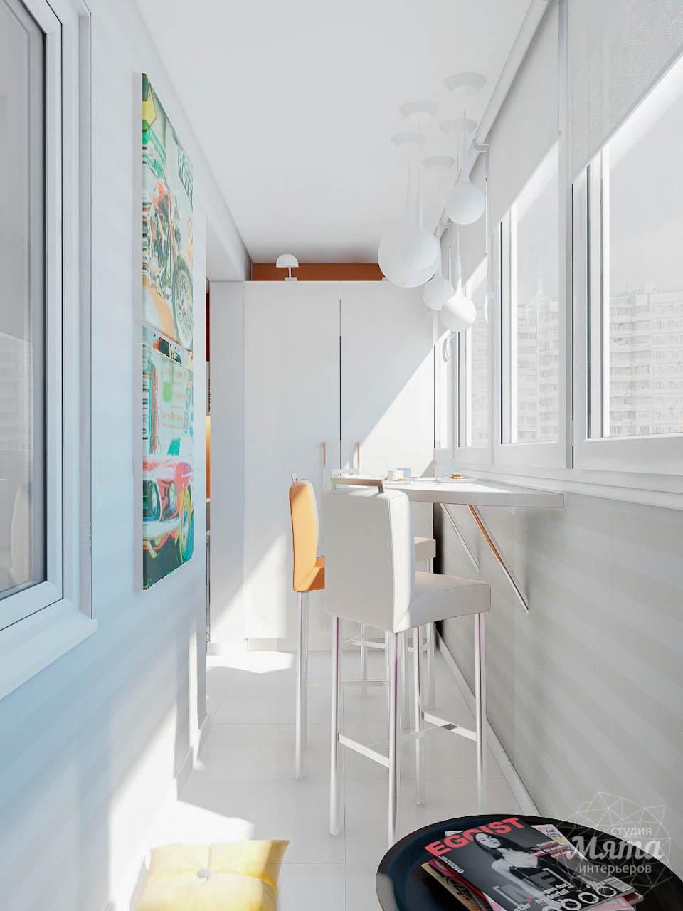 Дизайн интерьера однокомнатной квартиры в современном стиле по ул. Агрономическая 47 img1247577589