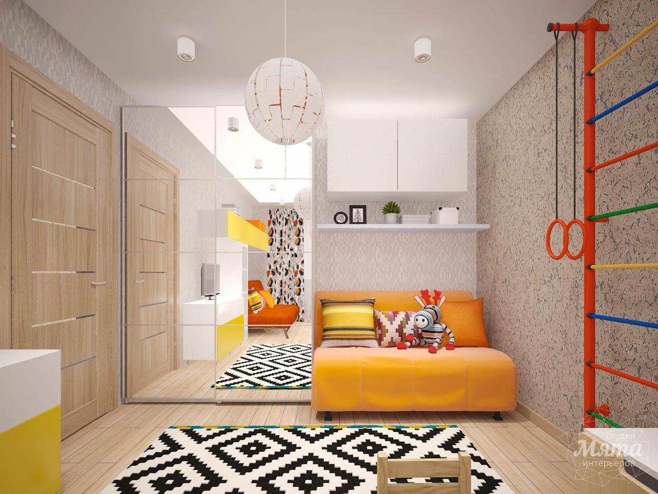 Дизайн интерьера однокомнатной квартиры в современном стиле по ул. Агрономическая 47 img201269537