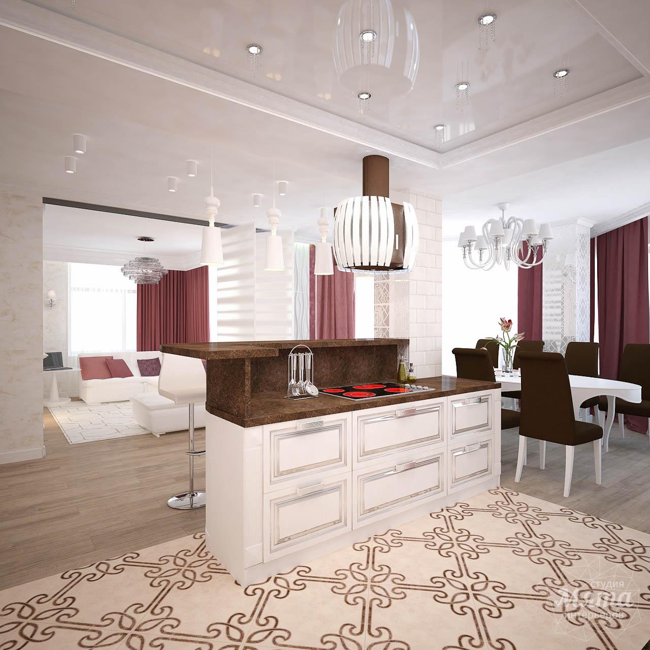 Дизайн интерьера четырехкомнатной квартиры по ул. Шевченко 18 img1918249860