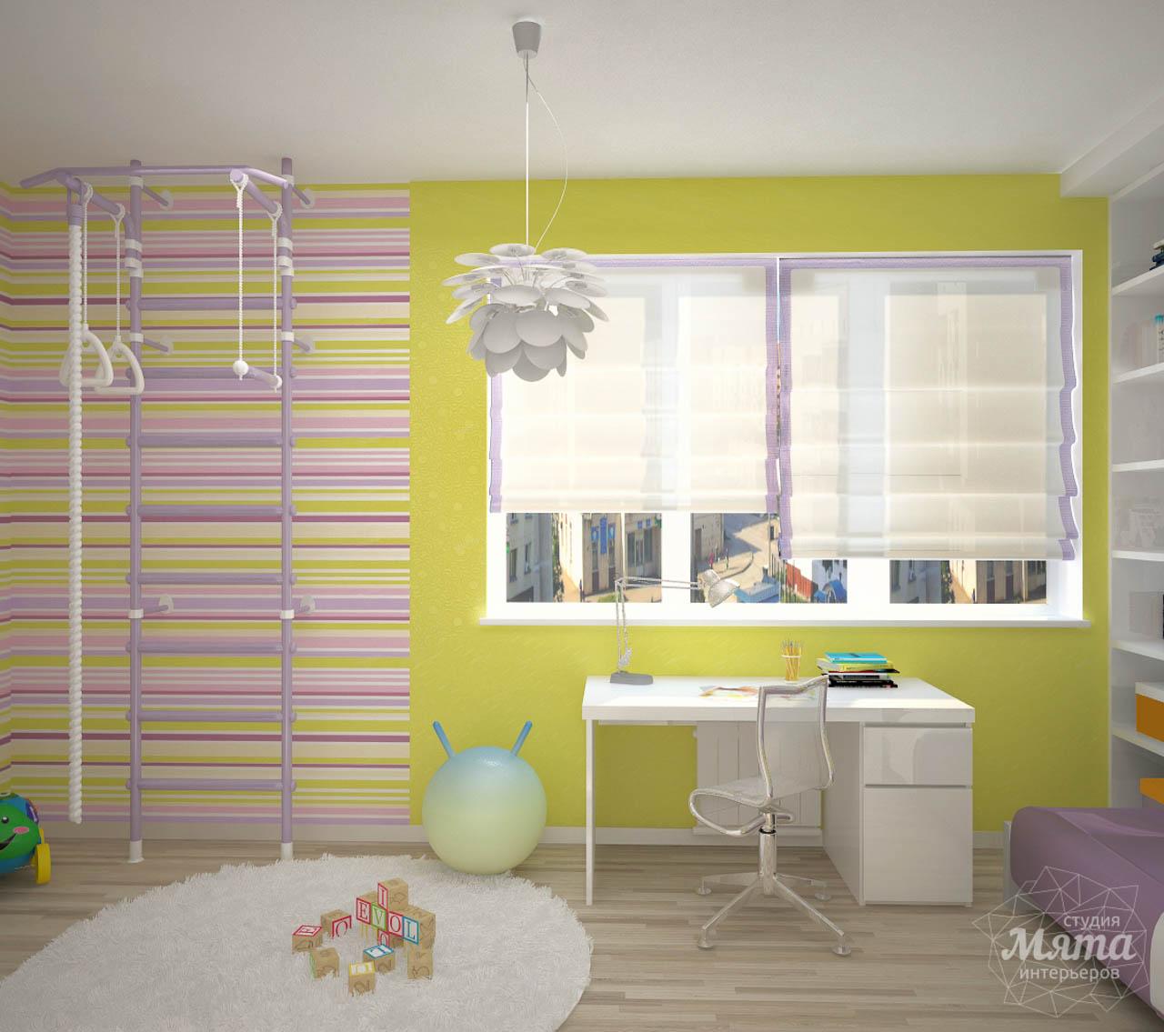 Дизайн интерьера и ремонт трехкомнатной квартиры по ул. Попова 33а img1960706877