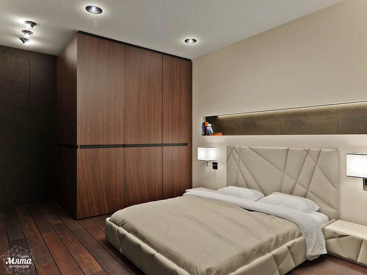 Дизайн интерьера однокомнатной квартиры в стиле хай тек по ул. Щербакова 35 img520401697