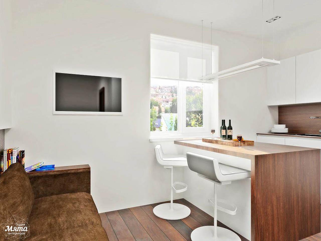 Дизайн интерьера однокомнатной квартиры в стиле хай тек по ул. Щербакова 35 img801963707