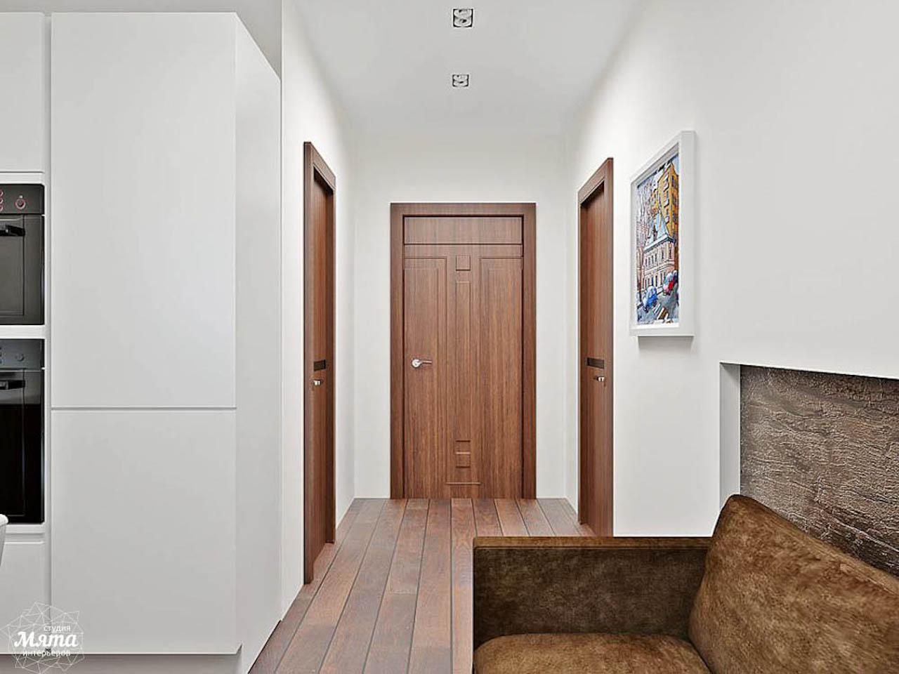 Дизайн интерьера однокомнатной квартиры в стиле хай тек по ул. Щербакова 35 img1782055049