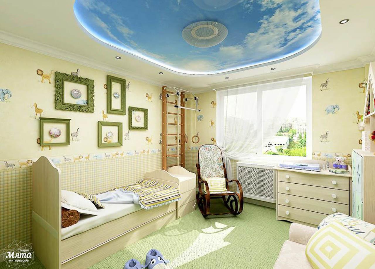 Дизайн интерьера трехкомнатной квартиры по ул. Юмашева 1 img1122695199