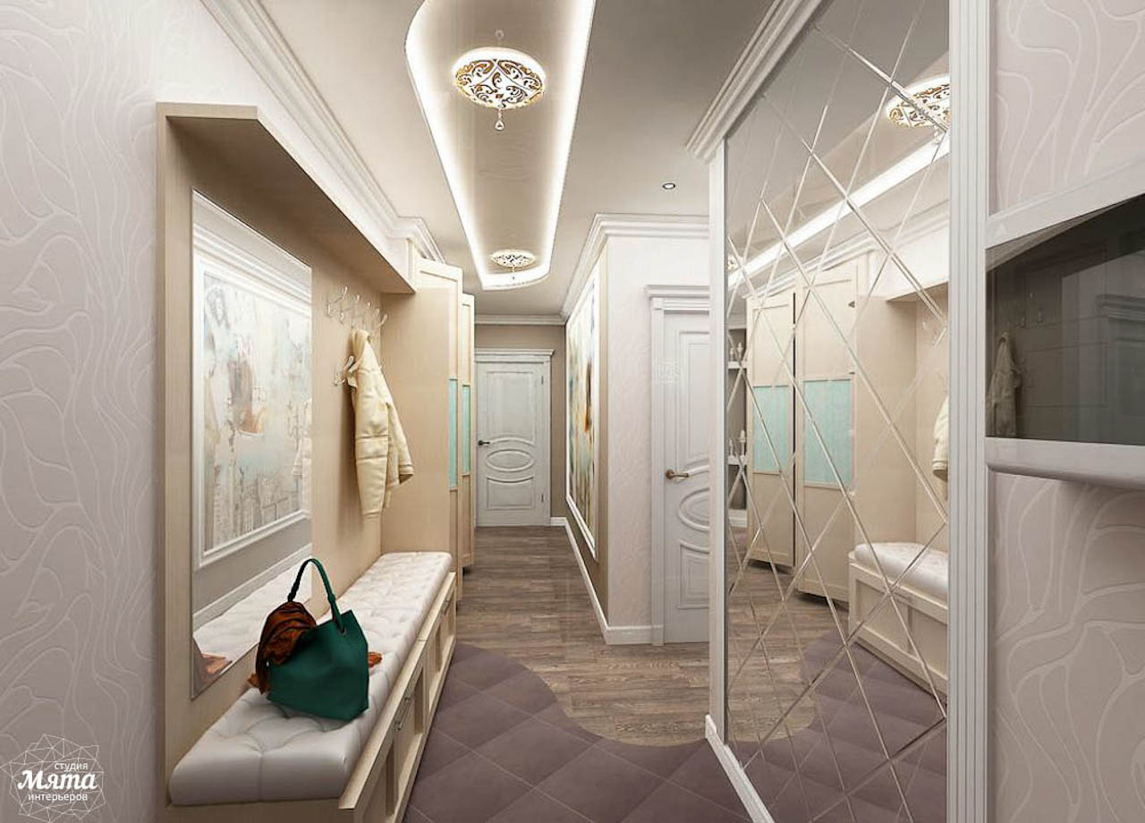 Дизайн интерьера трехкомнатной квартиры по ул. Юмашева 1 img163453944