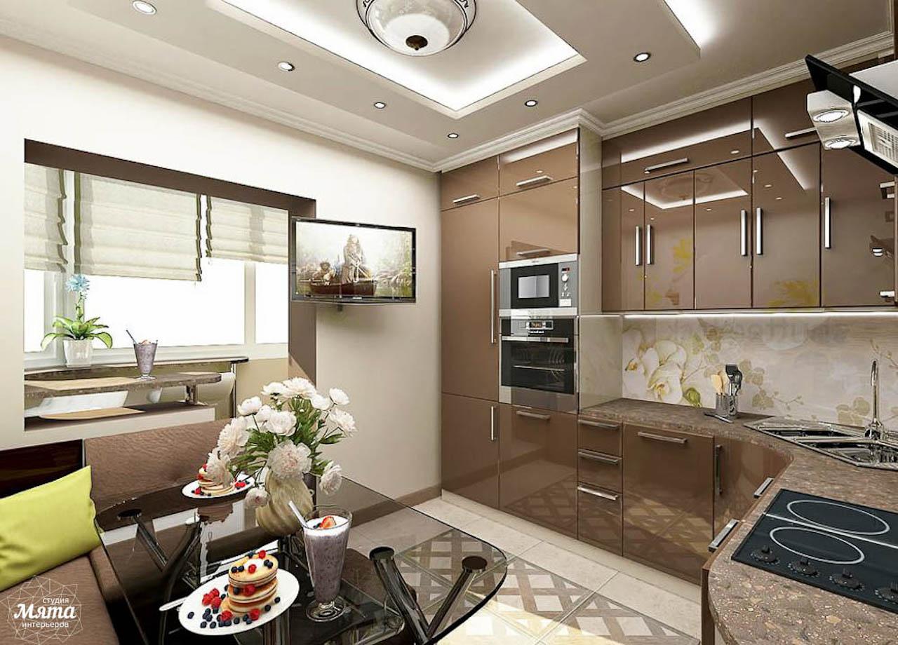 Дизайн интерьера трехкомнатной квартиры по ул. Юмашева 1 img262337875