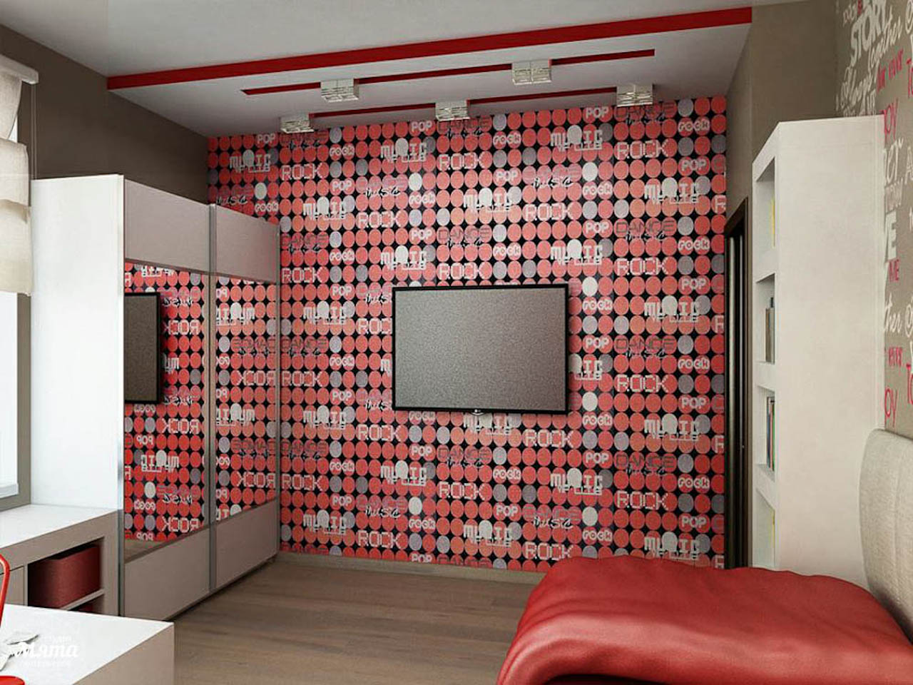 Дизайн интерьера трехкомнатной квартиры по ул. Николая Никонова 4 img1656475311