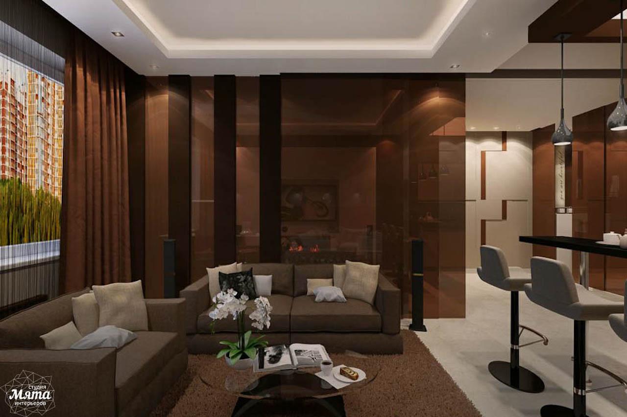 Дизайн интерьера однокомнатной квартиры по ул. Громова 30 img1826872944