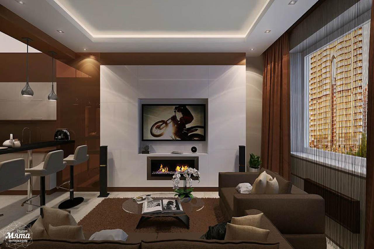 Дизайн интерьера однокомнатной квартиры по ул. Громова 30 img1092416363