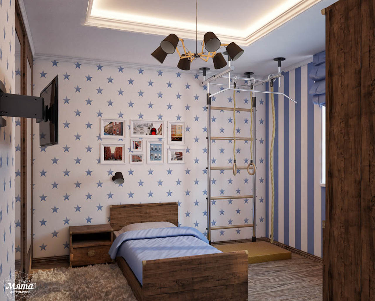 Дизайн интерьера коттеджа в п. Новый Исток img681449052