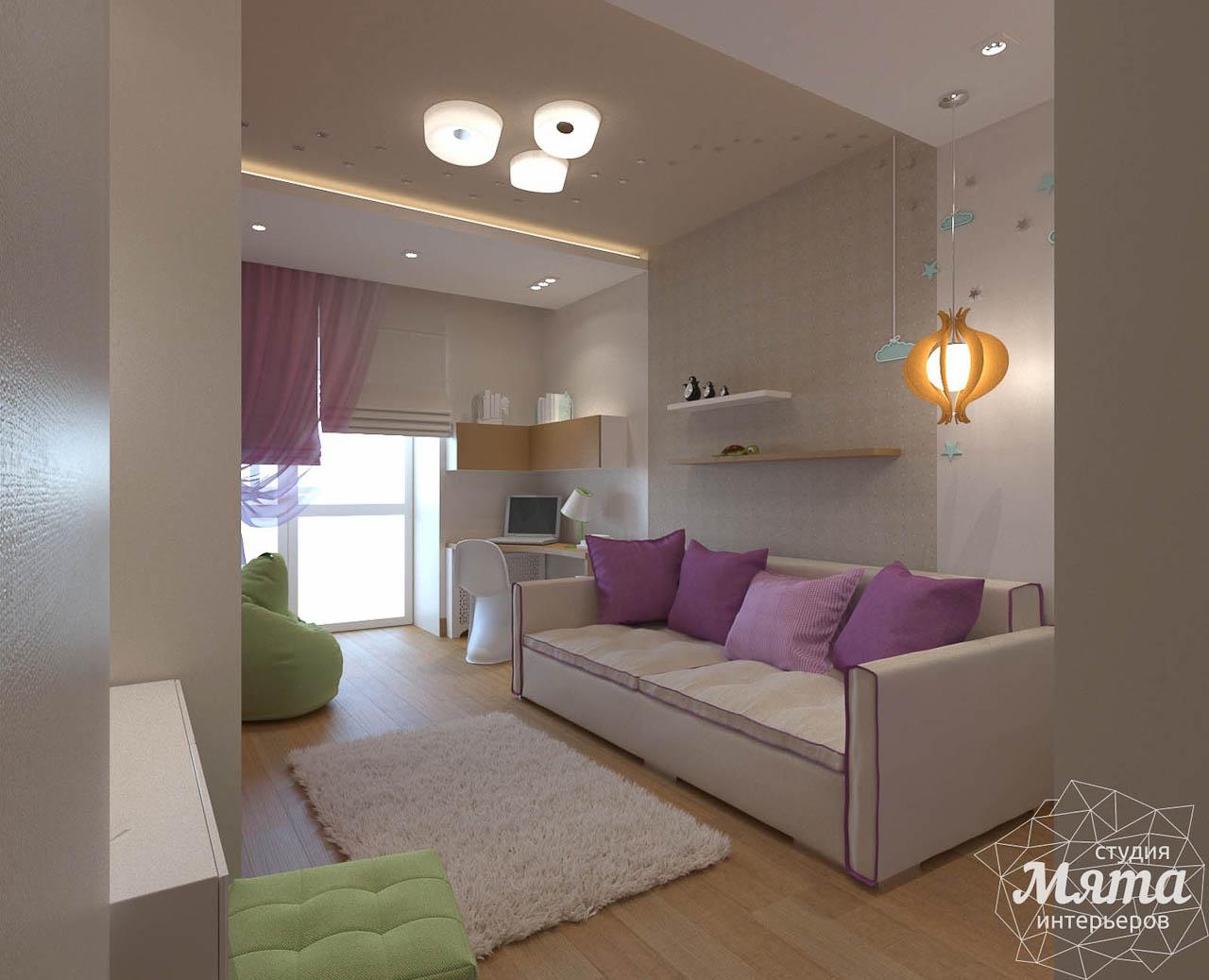 Дизайн интерьера трехкомнатной квартиры по ул. Мельникова 27 img1396897022