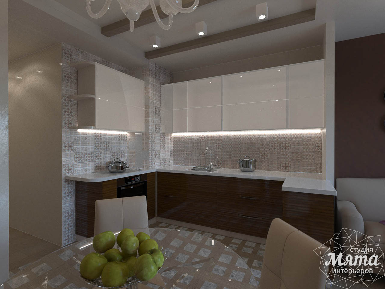 Дизайн интерьера трехкомнатной квартиры по ул. Мельникова 27 img1732758652