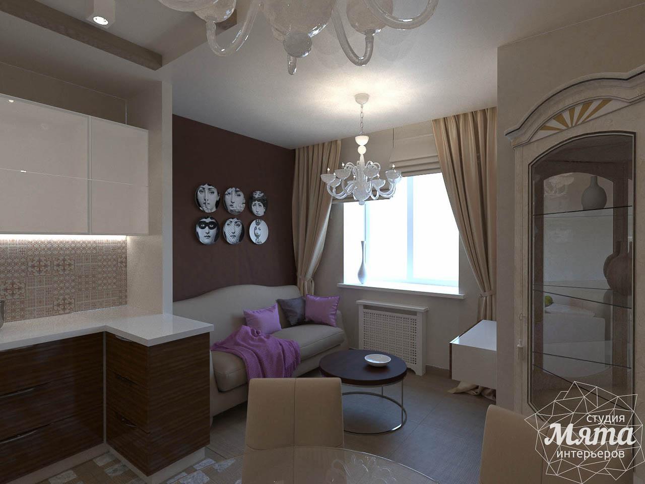 Дизайн интерьера трехкомнатной квартиры по ул. Мельникова 27 img1858260772