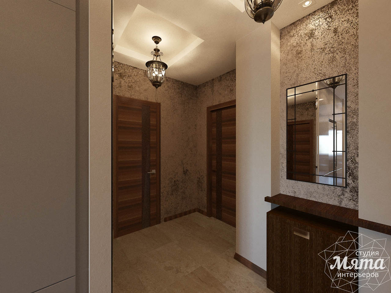 Дизайн интерьера трехкомнатной квартиры по ул. Мельникова 27 img967847511