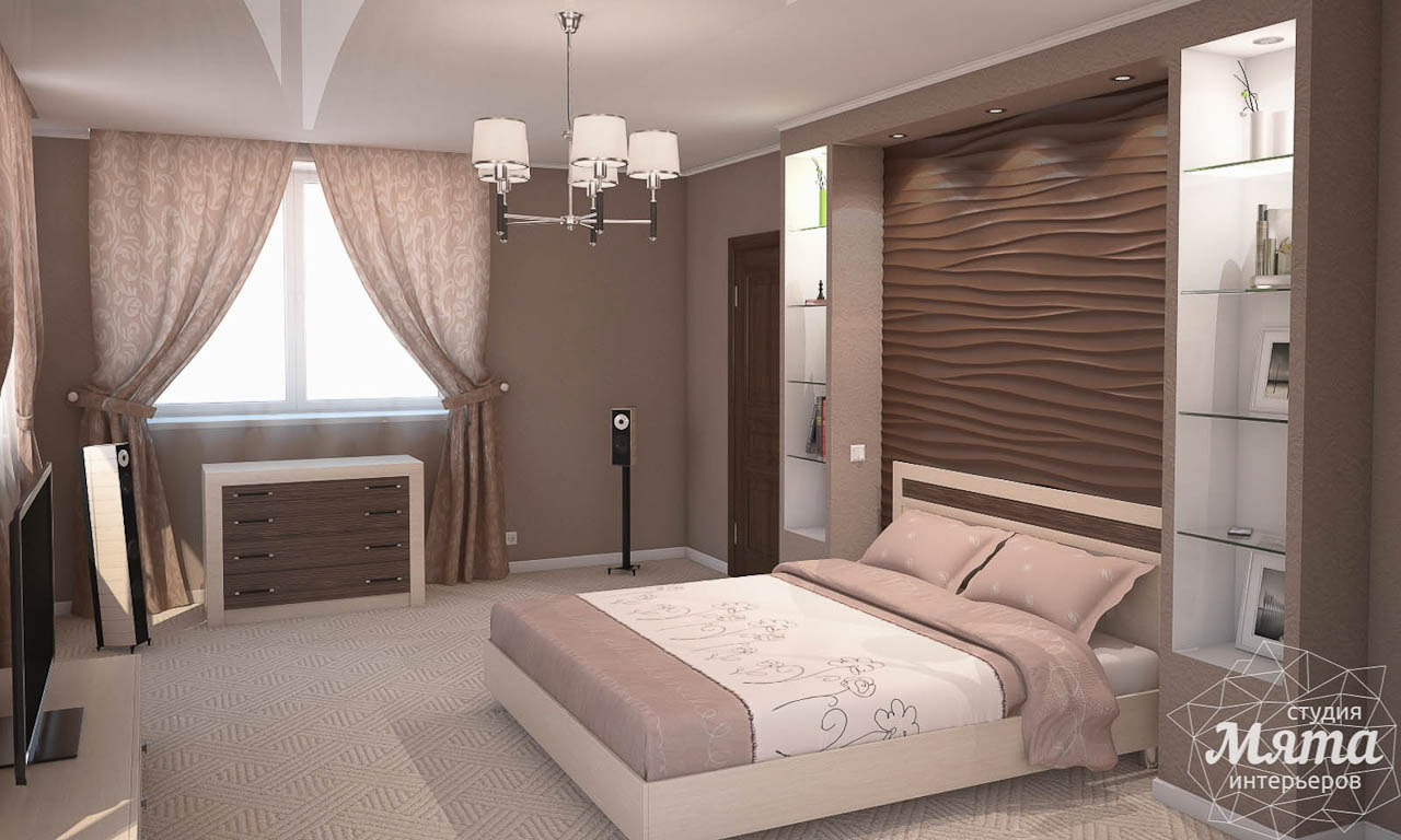 Дизайн интерьера коттеджа в современном стиле в п. Образцово  img565703055