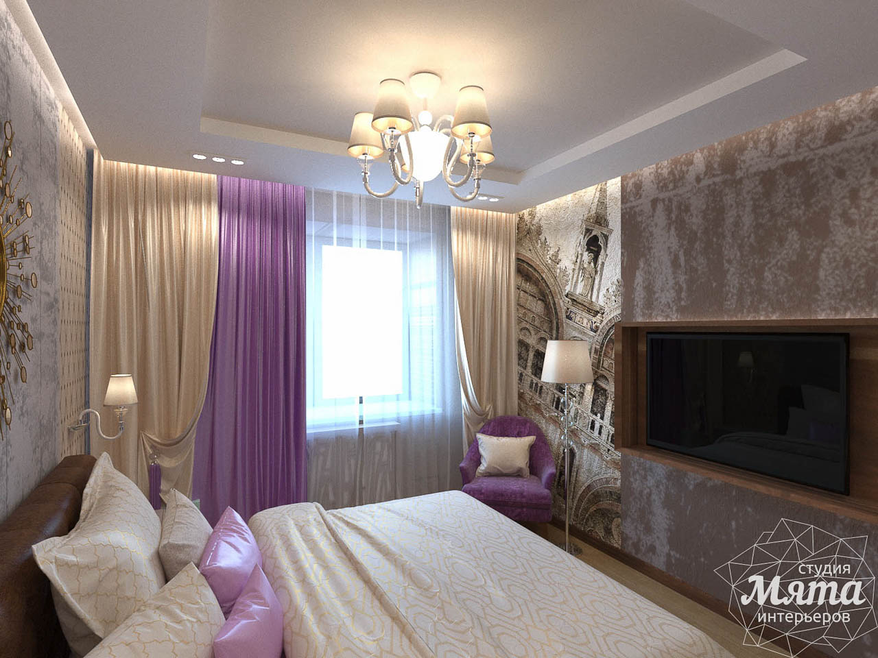 Дизайн интерьера трехкомнатной квартиры по ул. Мельникова 27 img1058473005