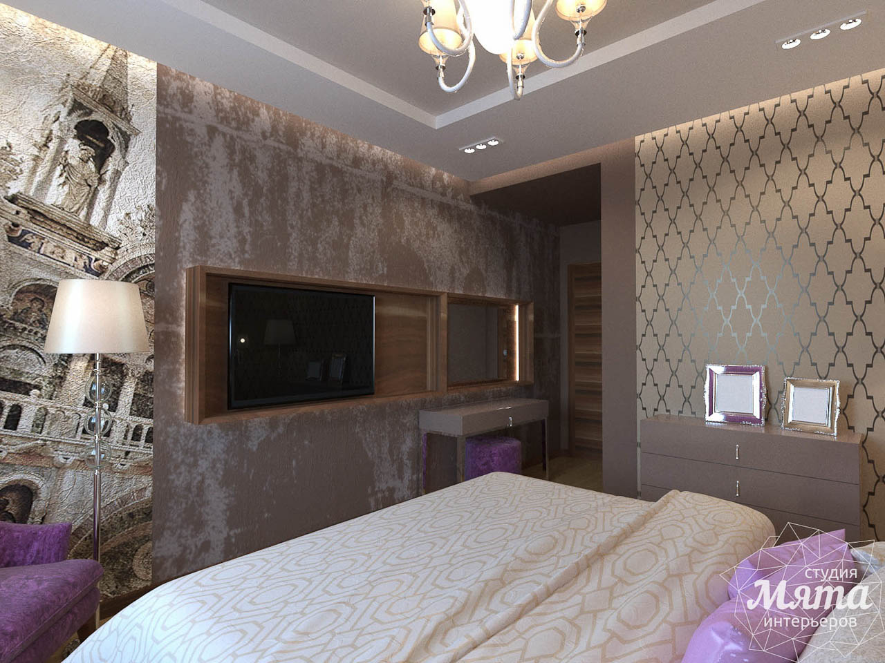 Дизайн интерьера трехкомнатной квартиры по ул. Мельникова 27 img438337576