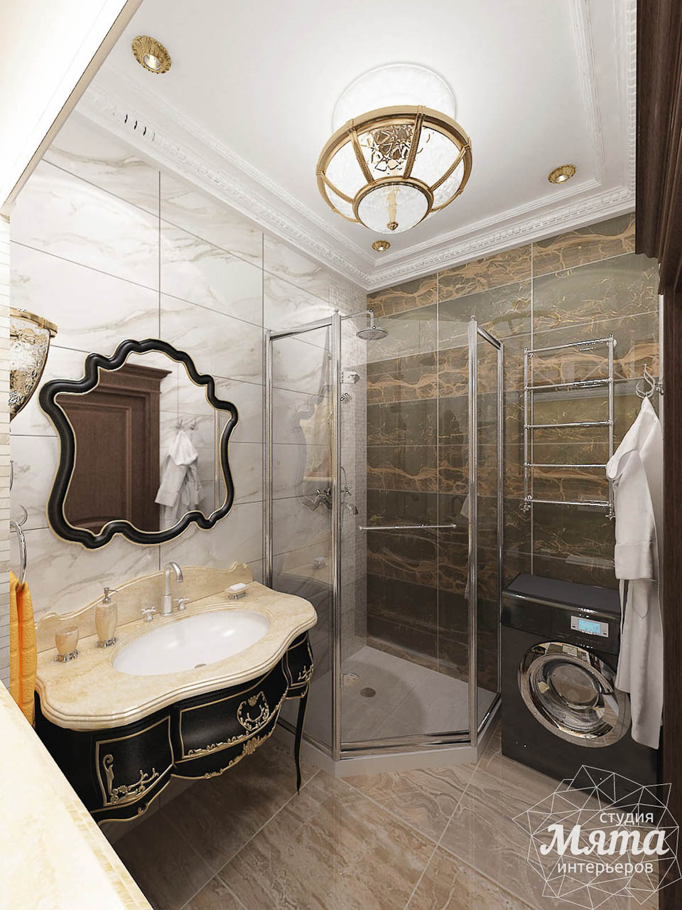 Дизайн интерьера двухкомнатной квартиры по ул. Мельникова 38 img317691319
