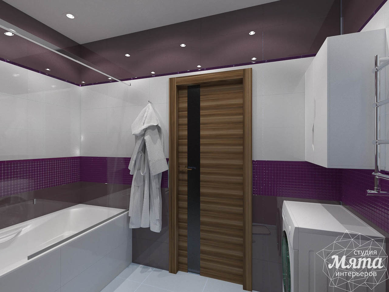 Дизайн интерьера трехкомнатной квартиры по ул. Мельникова 27 img1323039981