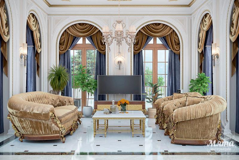 Дизайн интерьера коттеджа классическом стиле в Карасьозерске img704065621