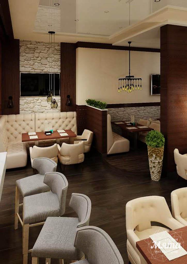 Дизайн интерьера кафе по ул. Малышева 12 img1798273186