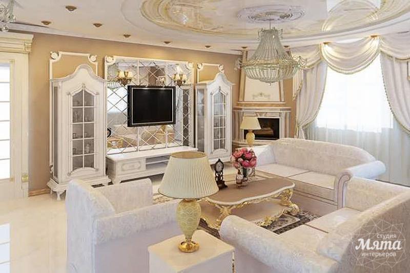 Дизайн интерьера коттеджа классическом стиле в Карасьозерске img813189248