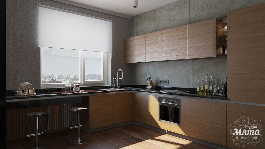 Дизайн интерьера двухкомнатной квартиры по ул. Юмашева 9 img166389675