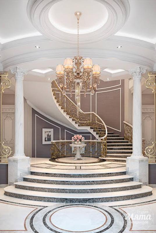 Дизайн интерьера коттеджа классическом стиле в Карасьозерске img877864415