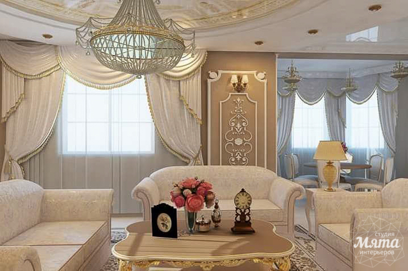 Дизайн интерьера коттеджа классическом стиле в Карасьозерске img714075262