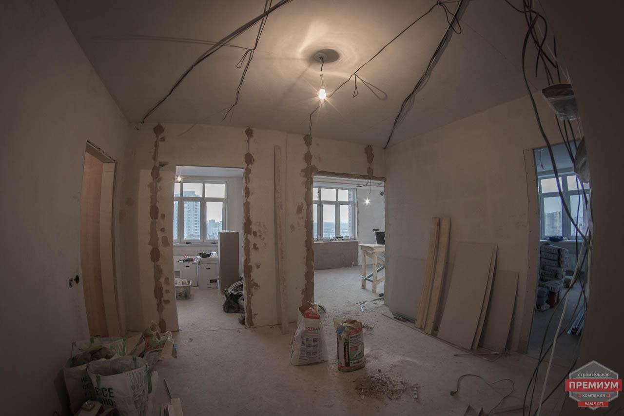 Дизайн интерьера  и ремонт трехкомнатной квартиры по ул. Машинная 44 6