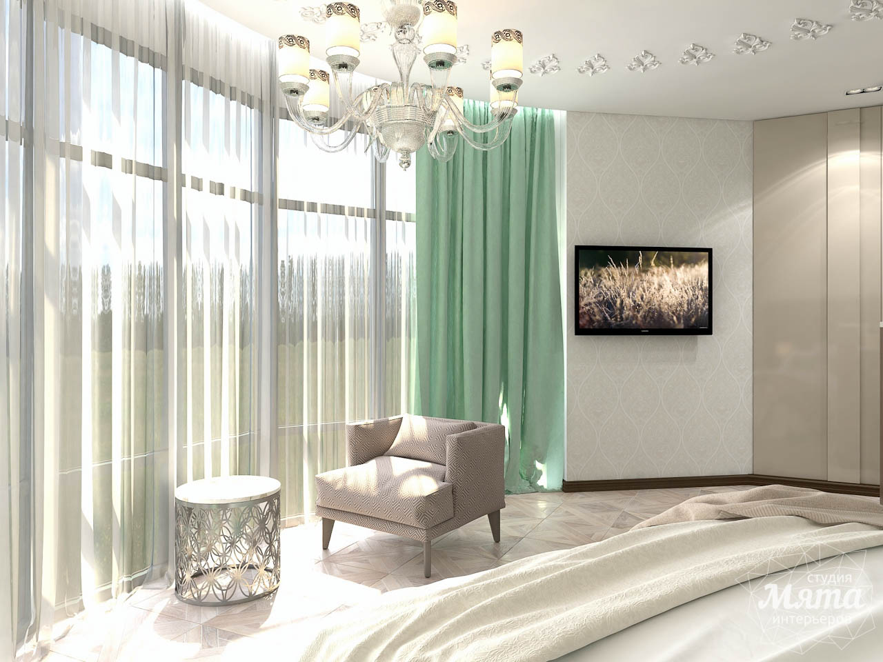 Дизайн интерьера коттеджа в п. Дубрава img1662500897