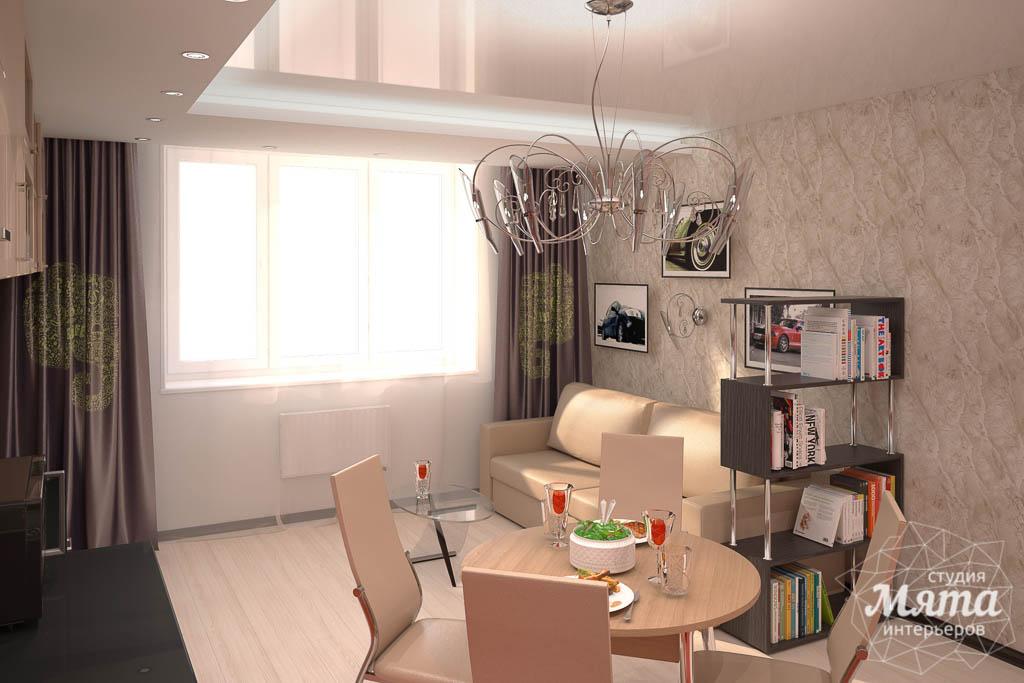 Дизайн интерьера однокомнатной квартиры по ул. Электриков 5 img87765406