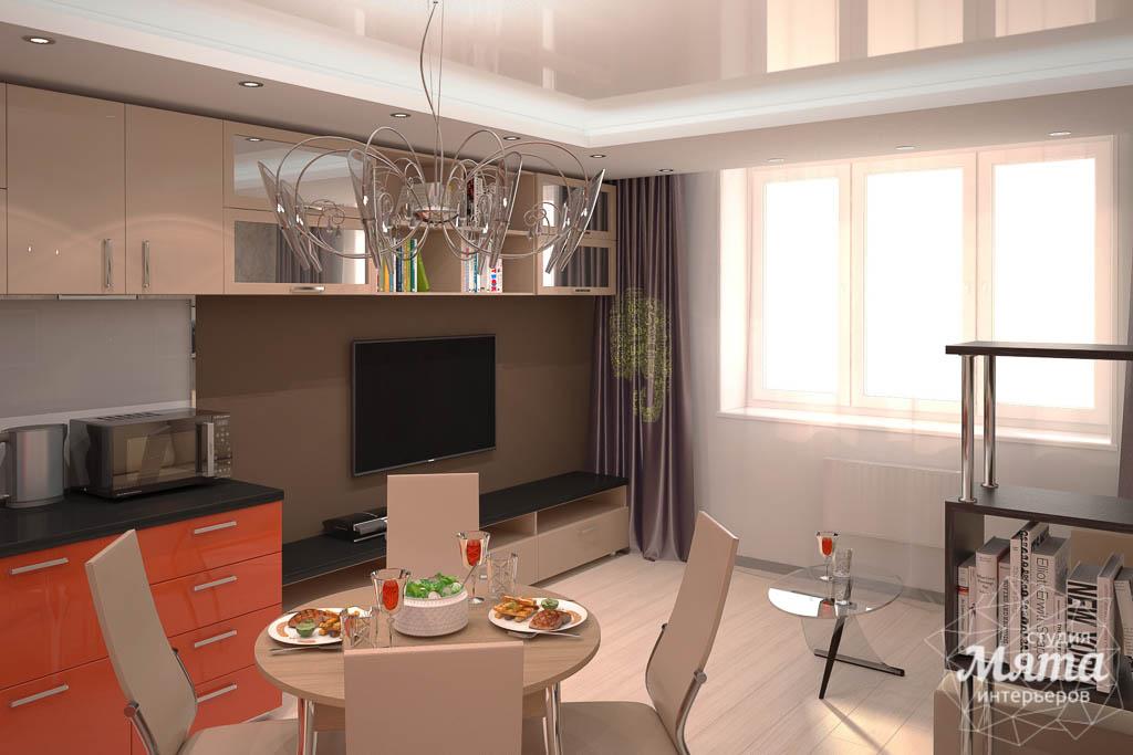 Дизайн интерьера однокомнатной квартиры по ул. Электриков 5 img986138151