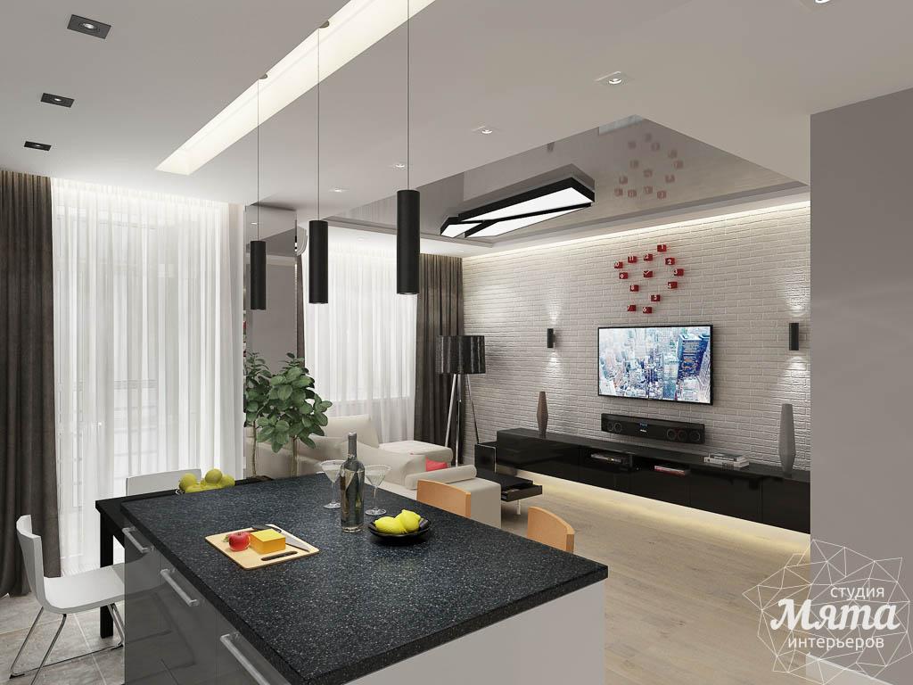 Дизайн интерьера двухкомнатной квартиры в ЖК Крылов img1493464833