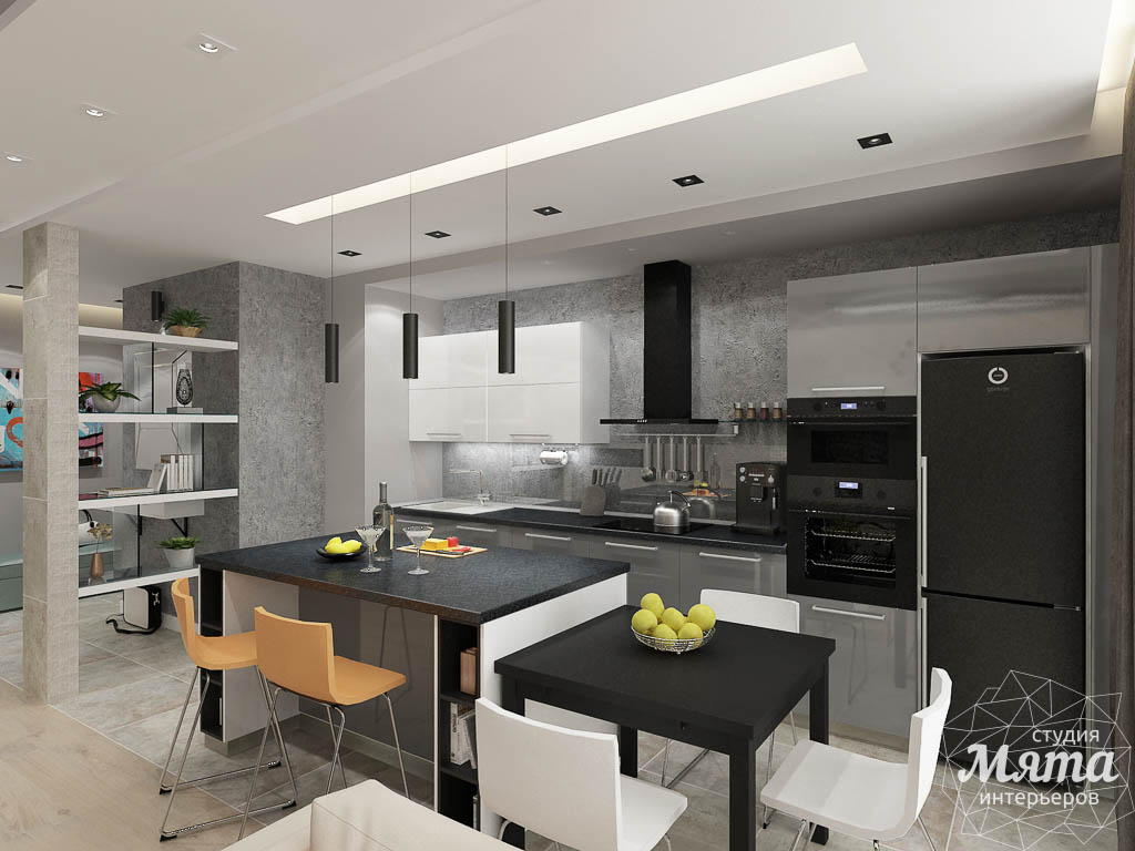 Дизайн интерьера двухкомнатной квартиры в ЖК Крылов img254223066