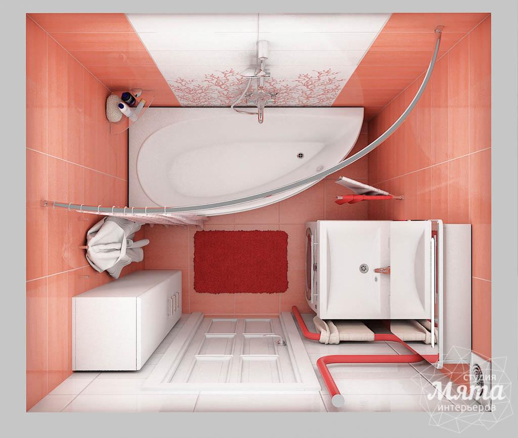 Дизайн интерьера ванной комнаты по ул. Калинина 77 img1460407709