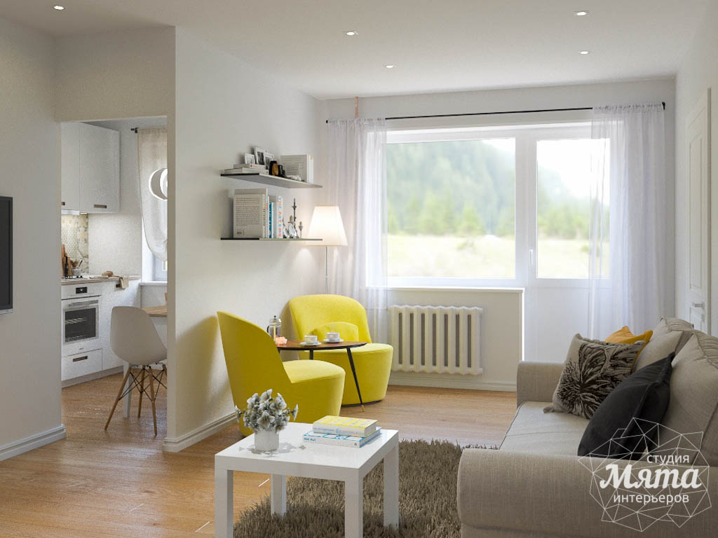 Дизайн интерьера двухкомнатной квартиры по ул. Мира 37а img136426676