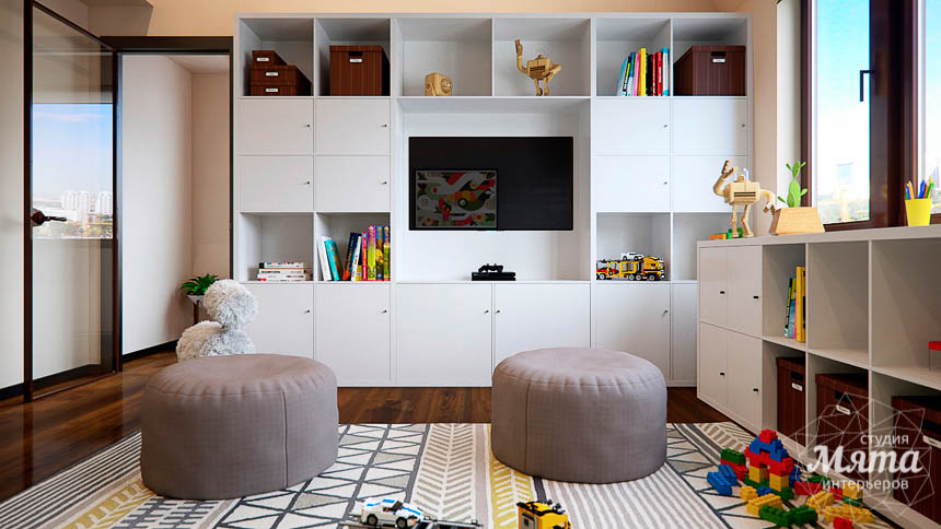 Дизайн интерьера детской в стиле лофт в Краснодаре img1630707426