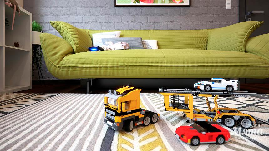 Дизайн интерьера детской в стиле лофт в Краснодаре img1494062170