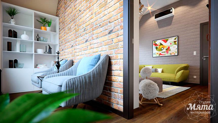 Дизайн интерьера детской в стиле лофт в Краснодаре img1615347043